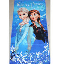 Kids Bath Beach Towel Frozen - Elea Toys