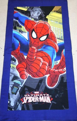 Kids Bath Beach Towel Spiderman