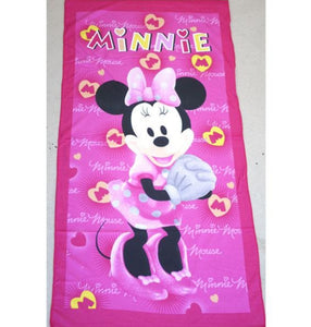 Kids Bath Beach Towel Minnie Mouse