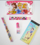 7pc Stationery Set Princess