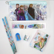 7pc Stationery Set Frozen