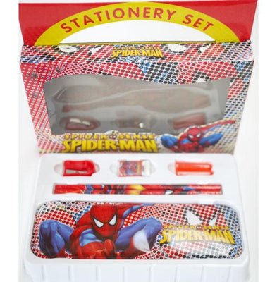 6pc Stationery Set Spiderman