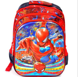 Kids 4D Large Backpack Spiderman