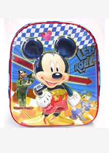 Kids Boys Mickey Mouse 4D Medium Backpack