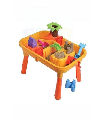 A Set(25Pcs) Kids Children Sand And Water Table Garden Sandpit Play Set Toys