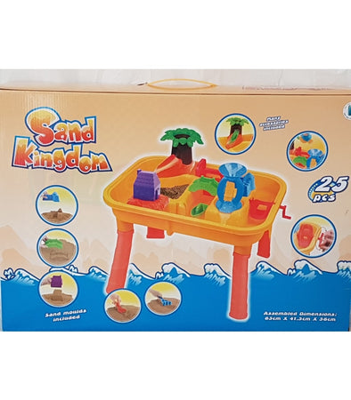 Pre-Orders Accepted Now✔FULL SET✔ Set(25pcs) Kids Children Sand and Water Table Garden Sandpit Outdoor Play Set Toys  - Elea Toys