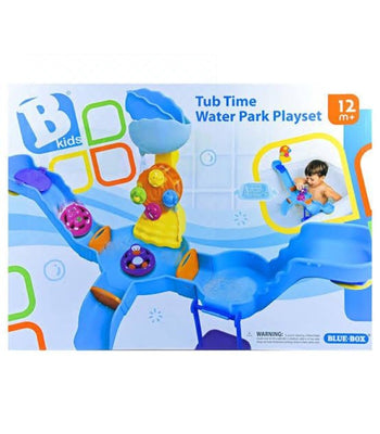B-Kids Baby - Toddler Tub Time Water Park Playset Bath Toys