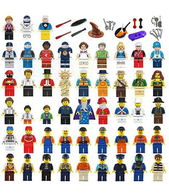 Bricks City Figurines And Accessories Free Shipping