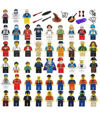 Bricks City Figurines and Accessories FREE SHIPPING - Elea Toys