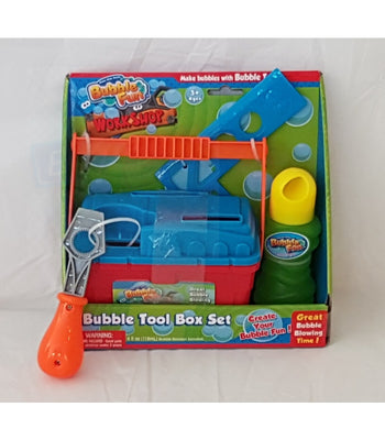 Bubble Fun Workshop Free Shipping Pretend Play Tool Set Case