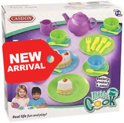 Casdon Luxury Pretend Play Kids Tea Set