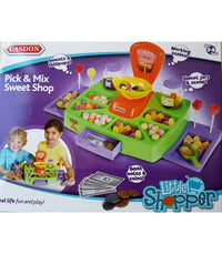 ✔Excellent Quality✔ CONTAINS REAL SWEETS✔Casdon Pick and Pack sweet shop Pretend Play Shopping Kids Children - Elea Toys