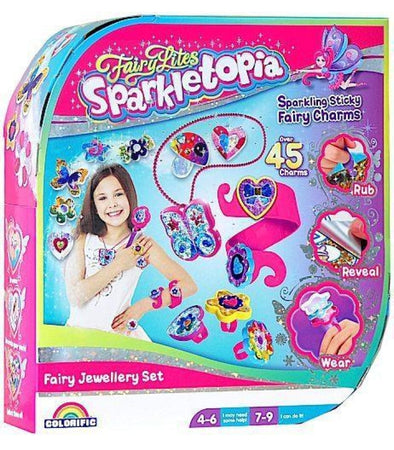 FairyLites Sparkletopia Fairy Jewellery Set  COLORIFIC - Elea Toys