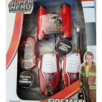 Fireman Playset Rescue Super Hero