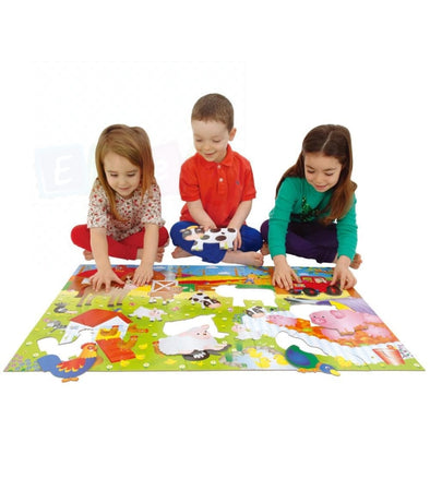Giant Sing A Long Farm Yard Floor Puzzle - Elea Toys