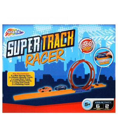 Super Track Racer Loop Set - Elea Toys