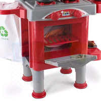 High Quality Luxury Toy Kitchen Red Unisex