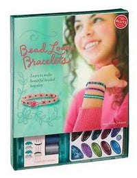 KLUTZ BEAD LOOM BRACELET KIT/BOOK - LEARN & MAKE 7 BRACELETS - Elea Toys