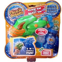 Ever Bubble Blaster Gun Blows Streams of Bubbles - Super Miracle Bubbles No Mess