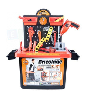 Kids Electric Drill Tool Workbench