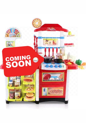 Kitchen Supermarket And Fast Food Playset