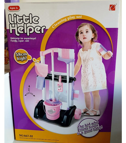 Little Helper Cleaning Play Set - Elea Toys