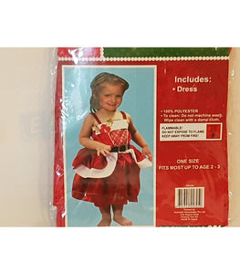 Little Mrs Claus Deluxe Costume Free Shipping