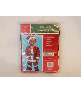 Little Santa Deluxe Costume Free Shipping