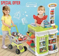 $25 ONLY! ENDS 19/01. Multi-functional Supermarket Lime FULL SET - Elea Toys