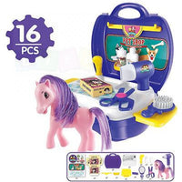 Pet Shop Case & Accessories Set
