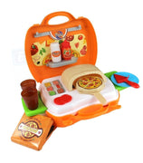 Pizza Cooking Set With Bag 22 Pcs Pretend Play Kitchen