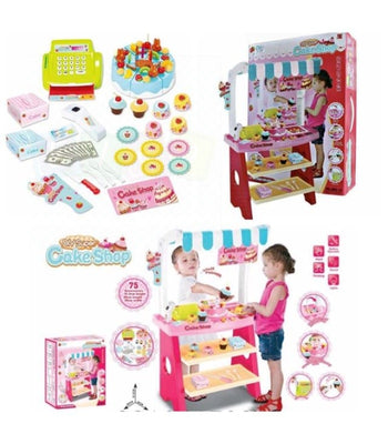 Popular Christmas Gift - Going Fast Kids Children Birthday Cake Shop 75 Accessories Pretend Shopping
