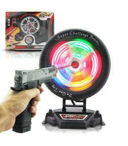 Pretend Play Kids Children  Future Star Wheel Shooting Game - Elea Toys
