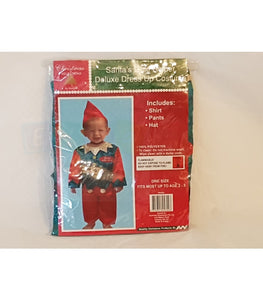 Santas Little Helper Deluxe Dress Up Costumes Free Shipping
