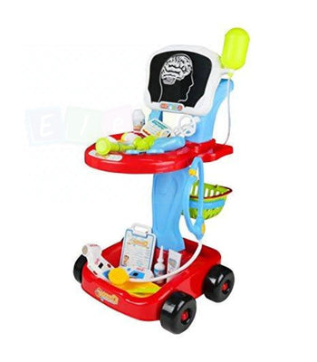Toy Doctors / Nurses Medical Trolley - X Rays Pretend Play Set