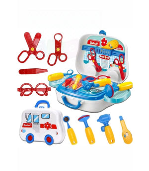 Toys Doctor Kids Medical Centre Hospital Convertible Mini Carry Case