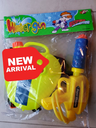 Water Gun Super Shooter Back Pack - Elea Toys