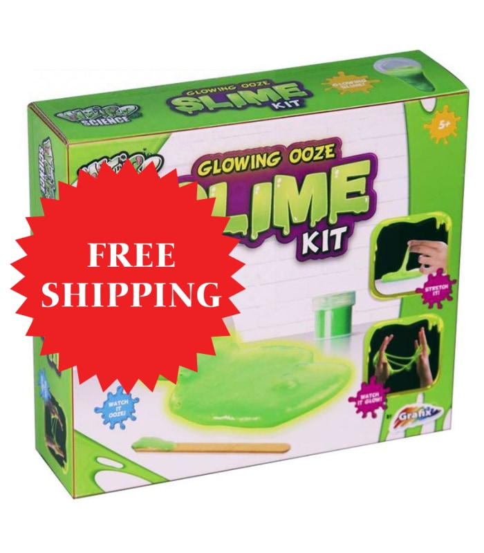 Weird Science  Make Your Own Glow Slime Kit Lets Kids Make Their Own Glow In The Dark Slime