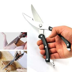 High quality Brand New Strong Knives Kitchen Shears Stainless Steel Poultry Fish Chicken Bone Scissors for Kitchen Store