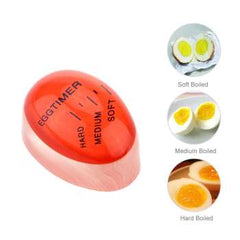 Egg Timer Kitchen Supplies Egg Perfect Color Changing Perfect Boiled Eggs Cooking Helper Timer Cooking Dial Eggtimer