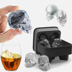 SKULL ICE CUBES Wow!