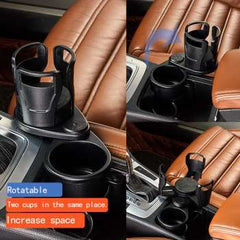 Car Dual Cup Holder Adjustable Cup Stand Sunglasses Phone Organizer Drinking Bottle Holder Bracket Car Styling