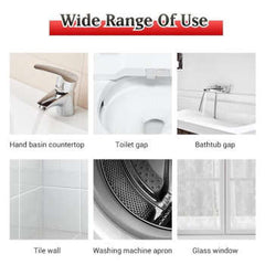 Household Mold Remover Gel Deep Down Wall Mold Mildew Remover Cleaner Caulk Gel Mold Remover Gel Contains Chemical Free