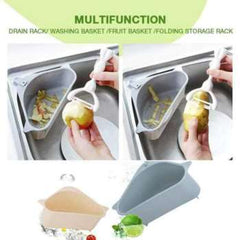 Kitchen Sink Multifunctional Storage Rack Multi Purpose Washing Bowl Sponge Drain Storage Rack Home Kitchen Organizer Gadget