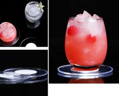 LED Bar Luminescent Bar Mat And Round 7 - Colored Cup Pad KTV Light Base Gravity Induction Battery Bar Tools