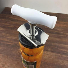 Can Opener Kitchen Screw Cap Bottle Wrench Free Size Suit Any Cans, Stainless Steel Can Tin Openers and Bottle Cap Opener