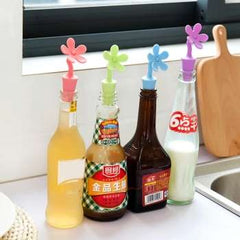 Silicone Beer Wine Cork Stopper Plug Bottle Cap Cover Seasoning Bottle Stopper Barware Bar Kitchen Tools accessories
