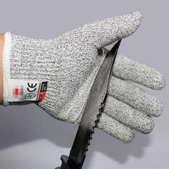 Stainless Steel Wire Butcher Cut-Resistant Glove Kitchen Gadgets Anti-cut Gloves Cut Proof Stab Resistant 1 Pair Multifunction