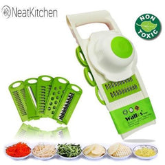 Mandolin Peeler Grater Vegetables Cutter tools with 5 Blade Carrot Grater Onion Vegetable Slicer Kitchen Accessories