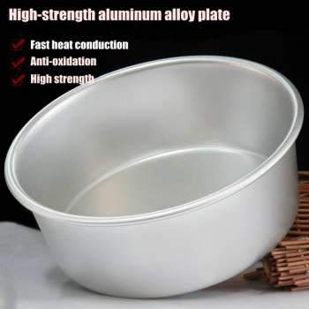 Aluminum Alloy Die Round 4/5/6/7/8/9/10 Inch Cake Mold Cake Template Baking Dish Baking Mould Pan Pattern Bakeware Tool cozinha